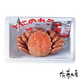 ボイル毛蟹 約600g×1尾