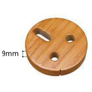 BAUHAUS 木製スペーサーコーナー用 9mm