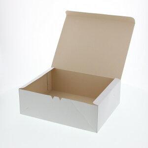 ケーキ箱 食品箱 洋生 白E 50枚 ケーキ10個用(265×210×H90mm)