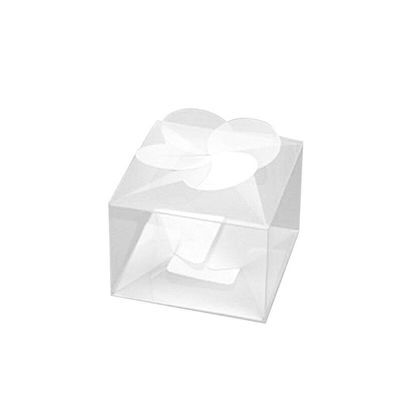 箱 クリスタルボックス A-4 (縦65×横65×高さ45mm) 10枚【クリアケース PVC 透明ボックス ギフトボックス】