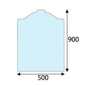 透明洋服カバー 5090 ブラウス用 100枚