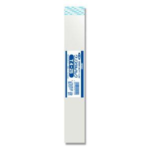 透明 OPP袋 クリスタルパック テープ付 T4-25(40×250+40mm) 100枚【OPP袋 opp袋 テープ付き 鉛筆用 ラッピング用品 クリアパック】