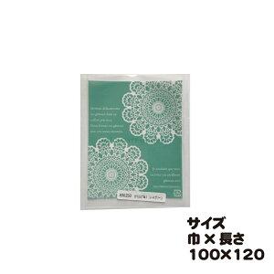 カマスGT NO.1 レースグリーン 100枚 巾100×長さ120mm【カマス袋(透明タイプ)】