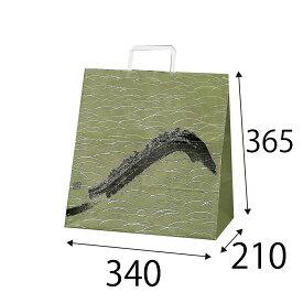 【ケース販売】ラッピーバッグ NO.7 すすき 150枚 巾340×マチ210×高さ365mm【業務用 手提げ袋 手提げ紙袋 紙袋 手提げ マチ広 和風】