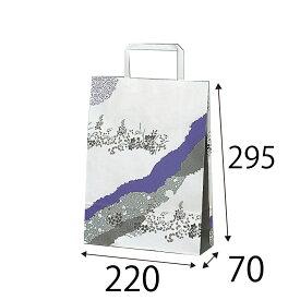 【ケース販売】ラッピーバッグ SS−2 セレモニー(哀悼) 300枚 巾220×マチ70×高さ295mm【業務用 手提げ袋 手提げ紙袋 紙袋 手提げ 仏事】