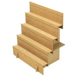 組立式木製飾り棚 2Way 1セット