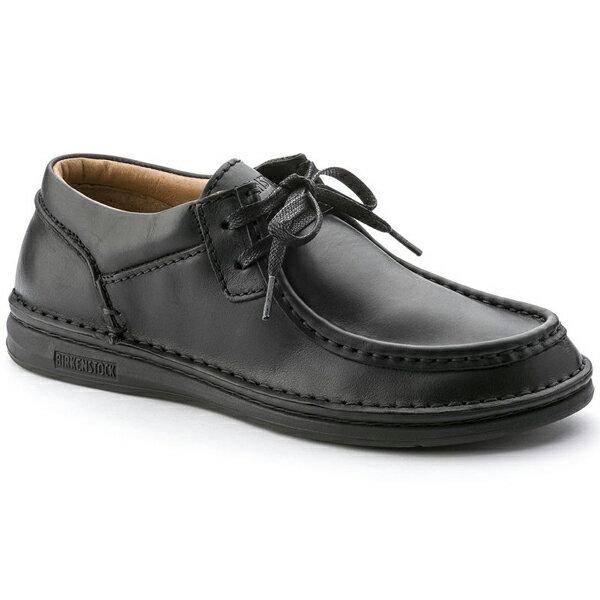 【ワンサイズ 28.0cm】[メンズ] BIRKENSTOCK Pasadena Natural Leather ビルケンシュトック パサデナ ナチュラルレザー Black 黒 BK
