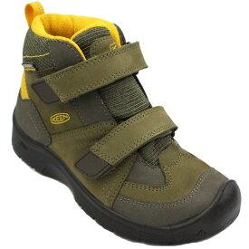 KEEN キーン ハイクポート ミッド ストラップ ウォータープルーフ HIKEPORT Mid STRAP WP リトルキッズ キッズ 子供 ブーツ 防水 15.0-19.5 1017999