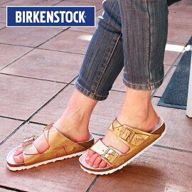 [レディース]BIRKENSTOCKMetallicCuts1012946ビルケンシュトックメタリックカットサンダルナロー幅大きいサイズ