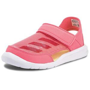 adidas アディダス FortaSwim C フォルタスウィム キッズ スポーツサンダル チョークピンク 17.0ー21.0cm AC8297
