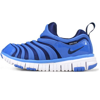 [kids] Nike Nike dynamo-free sneakers signal blue / white / midnight navy