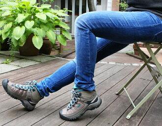 [Lady's] KEEN Targhee EXP Mid WP Kean Targhee EXP mid waterproofing hiking shoes trekking shoes boots