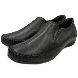 SASH! サッシュ オリジナル らくちん靴 レディース 日本製 本革 ブラック