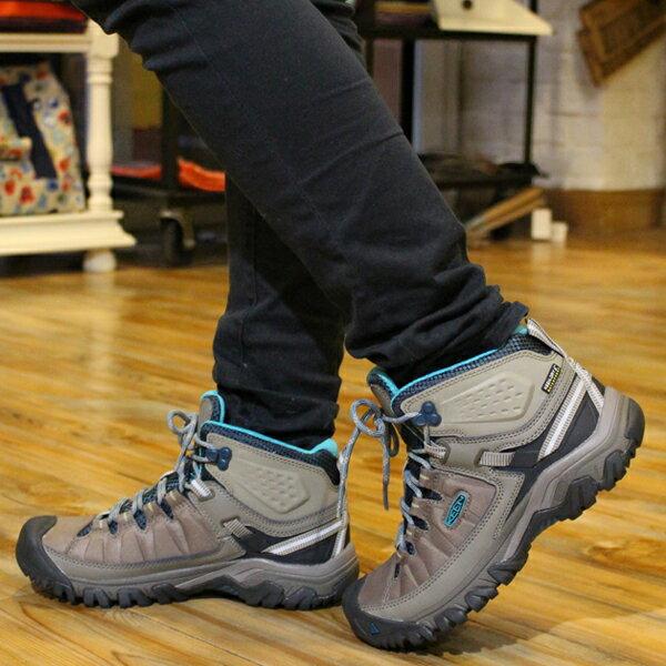 【30%OFF】【さらに今なら10%OFFクーポンが利用可能です】[レディース] KEEN Targhee EXP Mid WP キーン ターギー EXP ミッド 防水ハイキングシューズ トレッキングシューズ ブーツ