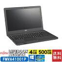 富士通 fujitsu LIFEBOOK A359/BX FMVA41001P Windowsノート 15.6型 Windows 10 Pro Core i3 4GB (FMVA41001P)