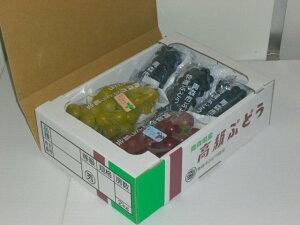 ルビーオクヤマ・イタリア・スチューベン詰め合わせ (2kg箱詰)