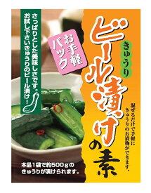 ビール漬けの素 (60g・お手軽パック) 日光食品 【簡単!!おいしい♪キュウリのお漬物】