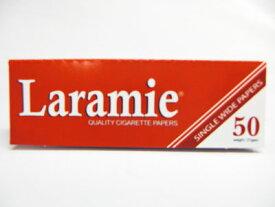 【ネコポス対応】【亜麻】【巻紙】【69mm】【50枚入り】【レギュラーサイズ】Laramie Red Singlewide【ララミー】【レッド】【手巻きたばこ】【ペーパー】【巻き紙】【手巻きタバコ用】【ローリングペーパー】