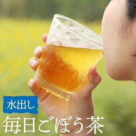 送料無料 鹿児島県産 毎日ごぼう茶(水出し)水出しごぼう茶 九州産 国産 ごぼう イヌリン 食物繊維 ティーバッグ ティーパック