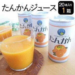 たんかんジュース 20本入り1箱 屋久島産 果汁100%