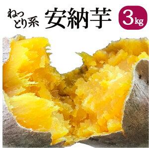 鹿児島県産 熟成土付きさつまいも 安納芋 3kg 送料無料 しっとり サツマイモ  焼き芋