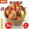 Fresh vegetables onion onion mixed size 3 kg/ Hyogo Awajishima product