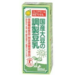 〔ムソー/マルサン〕国産大豆の調整豆乳 200mL 24セット【41580】オーガニック 食品 自然食材 食べ物 フード 日本製 国内 無農薬 有機