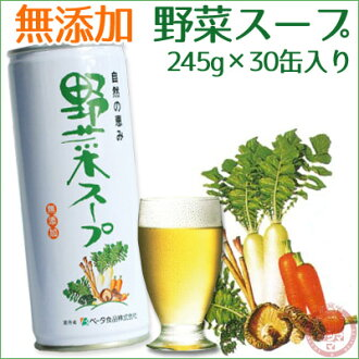 [bt] 245 g of blessings of nature vegetable soup *30 canned *1 case