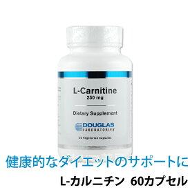 〔ダグラスラボラトリーズ〕L-カルニチン 250mg 60粒〔R250-60〕
