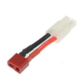 ▲2Pバッテリー用変換コネクター (オス)【レッド】イーグル3095LP-RE