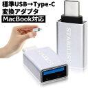 ポイント消化 標準USB Type-C 変換アダプタ 2個セット USB3.0 USBA to usb-c 変換コネクタ usbc プラグ 変換 タイプc 充電 データ転送 USB-A 送料無料
