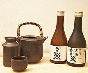 お歳暮 御歳暮 ギフト 日本酒 燗酒ことはじめセット300ml×2本セット&燗徳利セット 送料無料