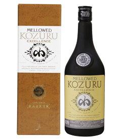 米焼酎 小鶴 メローコヅル エクセレンス 41度 700ml-Mellowed KOZURU Excellence- 小正醸造 メローコズル 化粧箱入り【倉庫A】