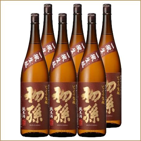 日本酒 初孫 一徹(いってつ)生もと 純米酒 1800ml×6本セット【東北銘醸】