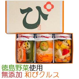 国産・無添加 素材を極めた和ピクルス「徳島ぴクルス」3種セット エイブルフーズ【お歳暮のし対応可】
