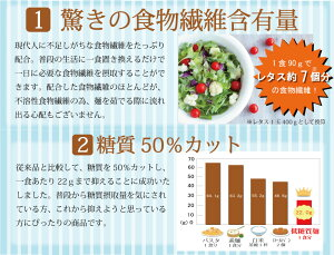 低糖質麺と低糖質そば 2種 8袋セット (糖質カット/ロカボ麺) 城北麺工