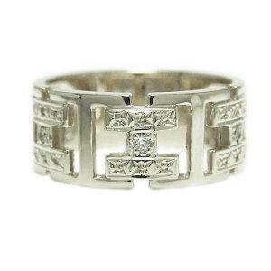 PT900プラチナ リング 指輪 ダイヤモンド 幅広 太め ボリューム 中指 人差し指 ピンキー メンズリング 天然石 誕生石 結婚指輪 マリッジ ブライダル プレゼント ギフト 贈り物 記念日 ヨーロピ