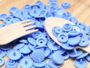 プラスチック スナップボタン(T-5)【30組(12mm パープル)】プラスナップ 手芸材料 プラスチック製 ボタン かわいい パーツ
