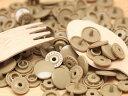 プラスチック スナップボタン(T-5)【30組(12mm ブラウン)】プラスナップ 手芸材料 プラスチック製 ボタン かわいい パーツ