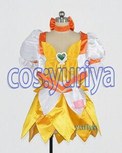 ハートキャッチプリキュア! キュアサンシャイン(Ver.2)★コスプレ衣装