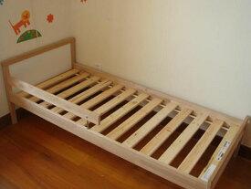 IKEA イケア 子供用ベッド ベッドフレーム すのこ SNIGLAR ビーチ 892.403.46 サイズ70x160 cm