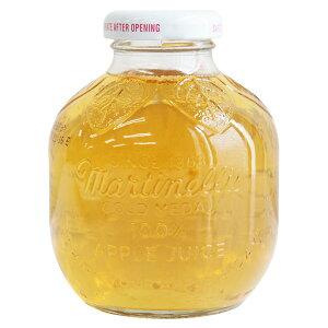 [6本セット] マルティネリ アップル ジュース マルチネリ コストコ おしゃれな瓶入り りんごジュース ストレート果汁 296ml×6本