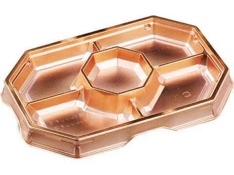 オードブル 32−22 ゴールド かん合透明蓋セット(10枚)