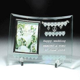 (送料無料)ジュエリーチャームフォトフレーム (名入れ,オリジナルメッセージ,オーダーメイド可)出産祝い・結婚祝い フォトフレーム 赤ちゃん・ウエディング メモリアルグッズ メモリアルフォトフレーム