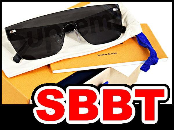●【LOUIS VUITTON】ルイヴィトン×シュプリーム Supreme  シティマスク サングラス  (City Mask SP Sunglasses ) 黒 ブラック  本物 新品 未使用! ●間違いなく本物!