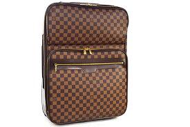 ● 【LOUIS VUITTON】 ルイヴィトン  キャリーバッグ  旅行バッグ  スーツケース  ぺガス55ビジネス   ダミエ  N23297  本物   ランクA