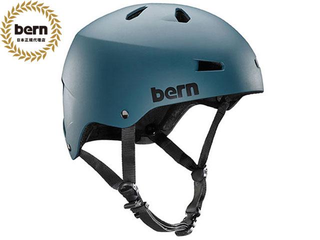 バーン bern メイコン MACON ALL SEASON Muted Teal マットミューテッド ティール 自転車 スケートボード BMX ピスト ヘルメット
