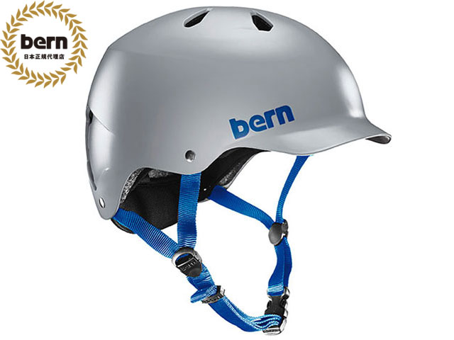 【国内正規品】 バーン bern WATTS ワッツ SATIN GREY BE-BM25BSGRY ツヤありグレー 灰 自転車 スケートボード BMX ピスト ヘルメット