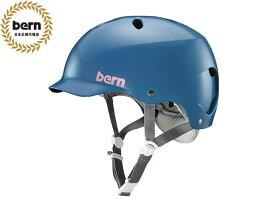 【国内正規品】 バーン bern LENOX BE-BW25BSIND SATIN INDIGO レノックス 自転車 スケートボード BMX ピスト ヘルメット レディース