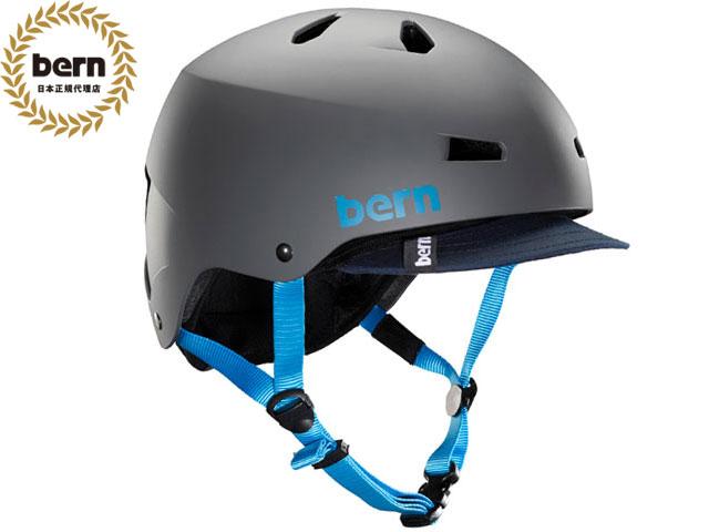バーン bern - メイコン MACON VISOR ALL SEASON MATTE GREY メイコン バイザー マット グレー 自転車 スケートボード BMX ピスト ヘルメット 【smtb-m】